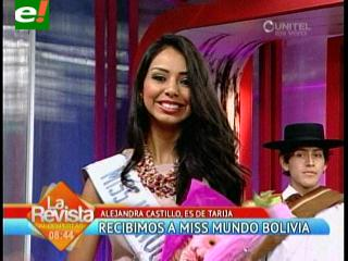 Miss Bolivia Mundo 2013, una hermosa tarijeña