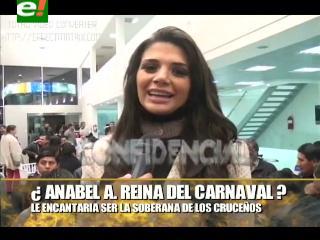 A Anabel Angus le gustaría ser Reina del Carnaval