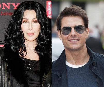 Tom Cruise, entre los cinco amantes favoritos de Cher