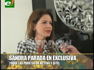 """Sandra Parada: """"Toqué las puertas de Activa Tv y Sitel"""""""