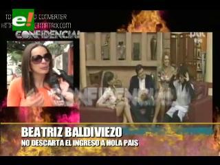 ¿Beatriz Baldiviezo en Hola País?