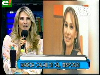 """Marcia Calabi: """"Yo propuse conducir con Pamela Moreno"""""""