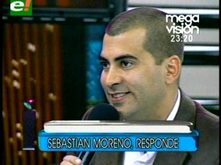 """Sebastián Moreno: """"Toda la vida quise ser un actor de Hollywood"""""""