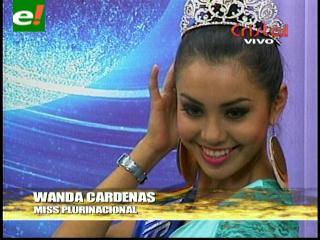 Miss Plurinacional Bolivia 2012, rumbo a certamen internacional