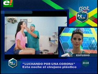 Alexia Viruez luchando por la corona de Miss Universo 2013