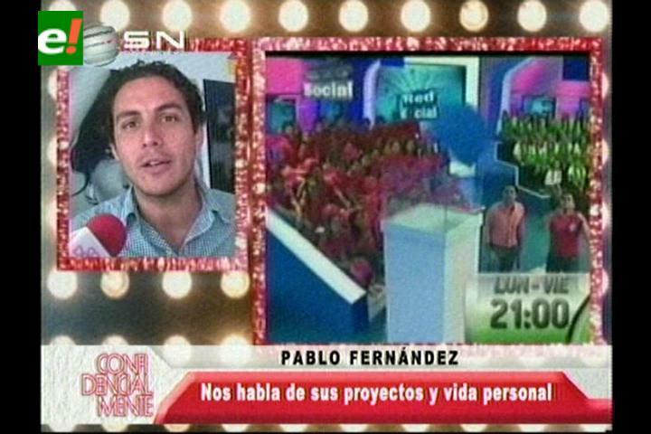 Pablo Fernández habla sobre sus proyectos profesionales y personales