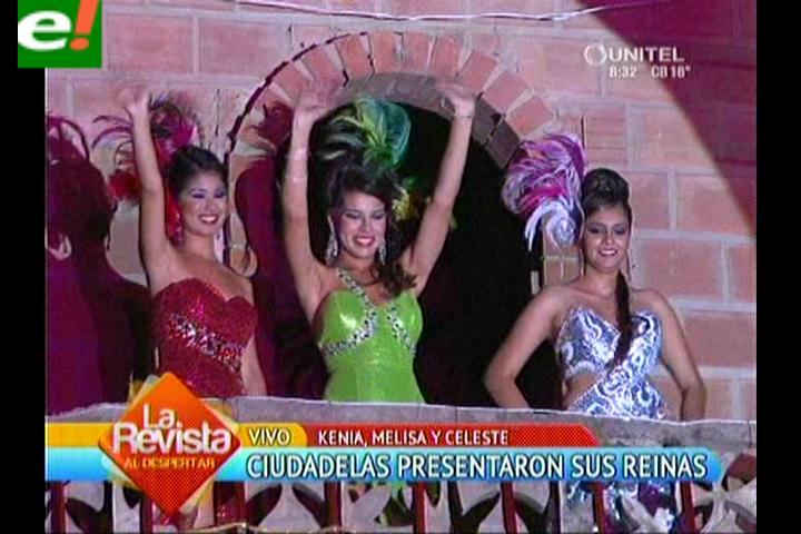 Las ciudadelas presentaron a sus soberanas del carnaval 2014