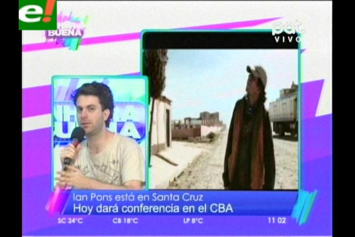 Ian Pons lanzará una primicia mundial de cortometraje en Santa Cruz