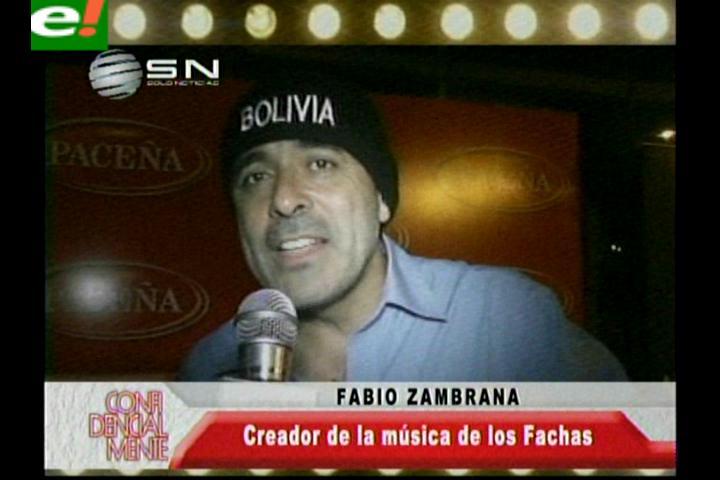 Fabio Zambrana y su espíritu carnavalero