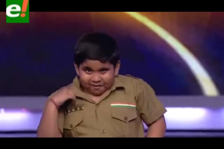 Mira al niño bailarín que cautiva a la India y las redes sociales