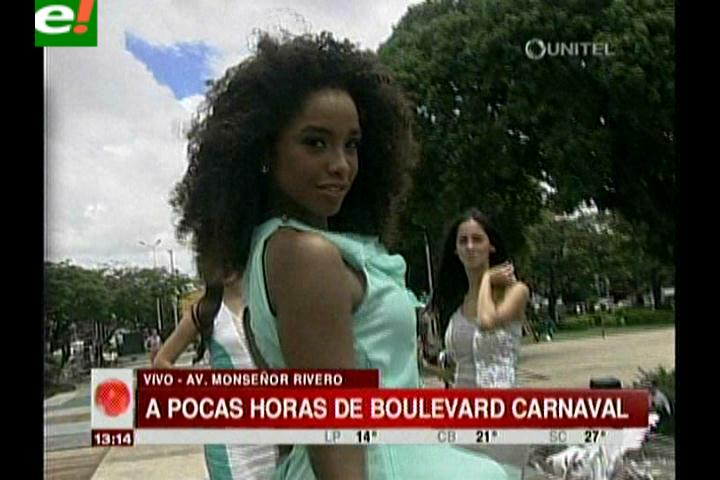 Boulevard Carnaval reunirá a bellezas nacionales e internacionales