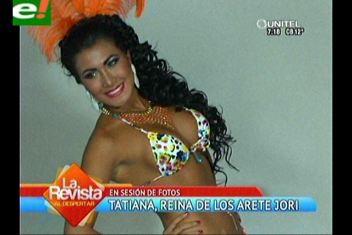 Agrupación Arete Jorí presentó a su reina del carnaval 2014
