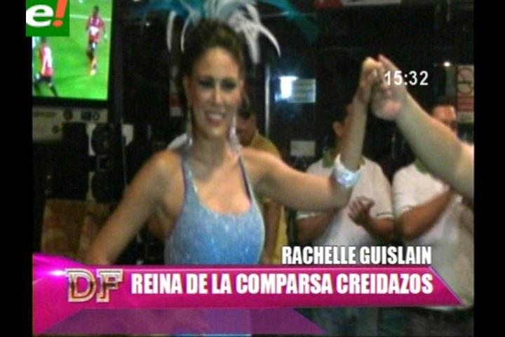 Rachelle Guislain es la hermosa reina de los Creidazos