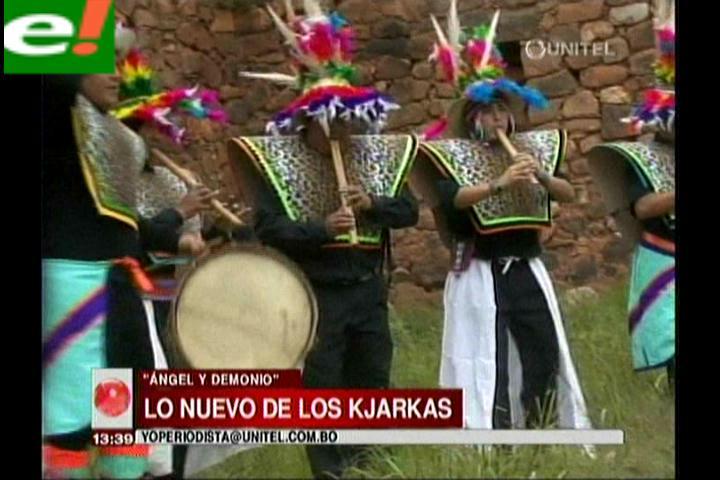 """Los Kjarkas graban videoclip """"Vivo por Ti"""""""