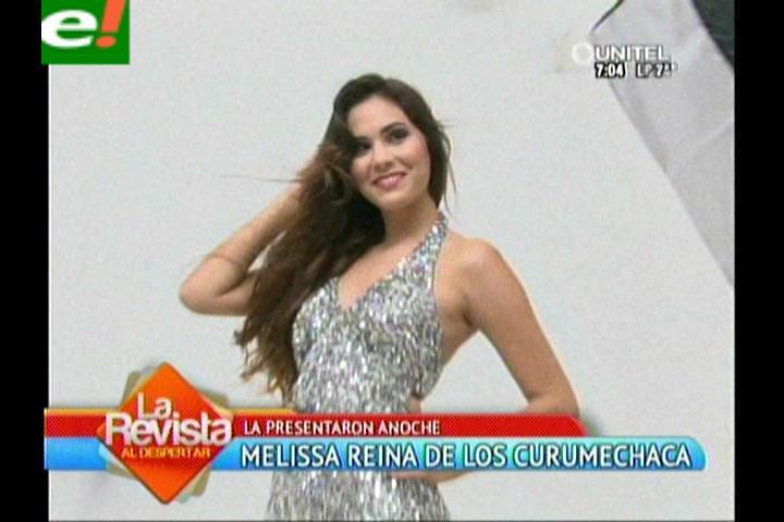 Agrupación Curumechaca presenta a su reina 2014