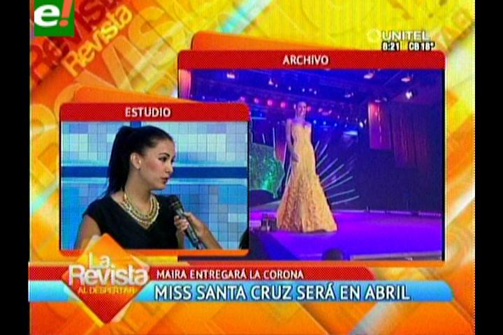 Elección de Miss Santa Cruz 2014 será en abril