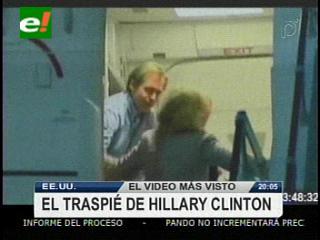 El tropezón de Hillary Clinton