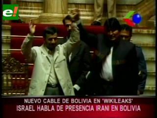 Otro cable de Wikileaks: Israel preocupada sobre la presencia iraní en Bolivia