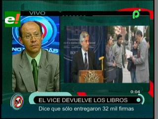 «El Vicepresidente desmerece el trabajo de los periodistas y de miles de ciudadanos»