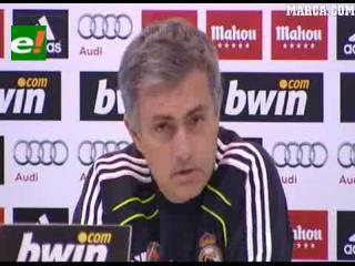 Mourinho: «Existe un reglamento para mí y otro para el resto de los entrenadores»