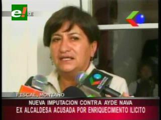 Nueva imputación contra Aideé Nava, ex alcaldesa de Sucre es acusada por enriquecimiento ilícito