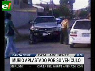 Santa Cruz: Fatal accidente, hombre muere aplastado por su vehículo