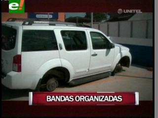 Bandas organizadas atracan en Santa Cruz