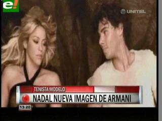 Rafael Nadal, de tenista a chico Armani