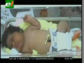 Nace bebé gigante en Brasil