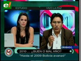 Félix Patzi: «Hasta el 2009 Bolivia avanzó, 2010 fue de persecucíon a autoridades electas»
