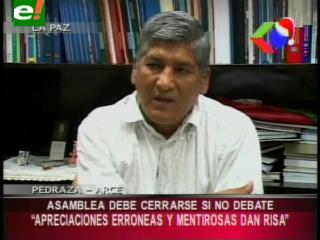 """Senador Pedraza: """"La Asamblea Legislativa debería cerrarse si no debate"""""""