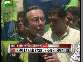 Del Granado: «Continuaremos con la defensa legal de Revilla, pero advertidos de la manipulación de la justicia»