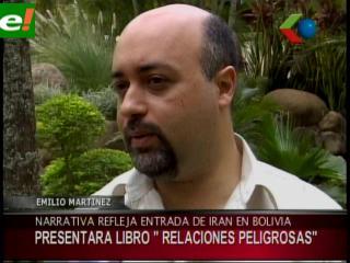 """Emilio Martínez presenta libro """"Relaciones Peligrosas"""""""
