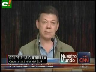 Capturan a dos jefes del ELN en Colombia y Venezuela