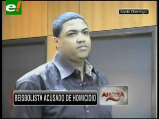 Beisbolista es acusado de homicidio