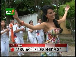 Alenir Echeverría presenta «A bailar con los Creidazos»