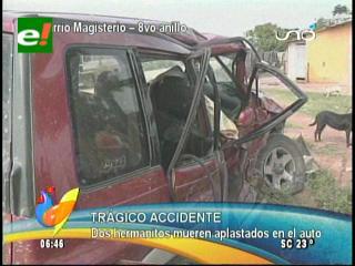 Dos menores de edad mueren en trágico accidente