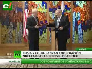 Rusia y EEUU refuerzan la cooperación nuclear