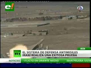 Finalizan con éxito las pruebas de un nuevo complejo antimisiles en Irán