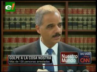 Golpe a la Cosa Nostra en Nueva York, 127 arrestados