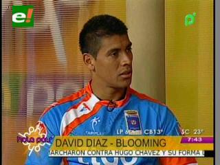 Llegó David Díaz, refuerzo del Club Blooming
