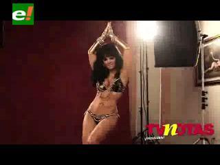 Sesión de fotos de la actriz Maribel Guardia para la revista TV Notas
