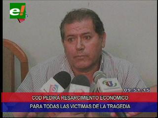 COD pedirá resarcimiento económico para todas las víctimas del derrumbe del edificio Málaga