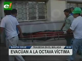 Evacúan a la octava víctima del edificio Málaga