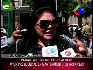 """Diputada Piérola: """"Mantenimiento del avión presidencial costó 125 mil dólares"""""""