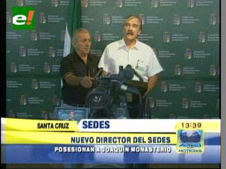 Joaquín Monasterio es el nuevo director del SEDES en Santa Cruz