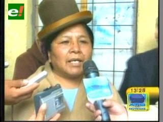 Federación de mujeres alteñas exigen un proceso contra la ex ministra Antonia Rodríguez
