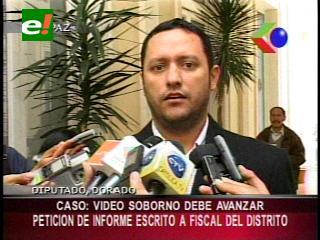 Diputado Dorado solicitará un informe escrito sobre los avances del caso video soborno