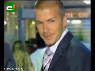 La infidelidad de Beckham es de interés público