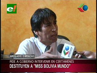 Abogado de Maria Teresa Roca pide al Gobierno la intervención en los certámenes de belleza